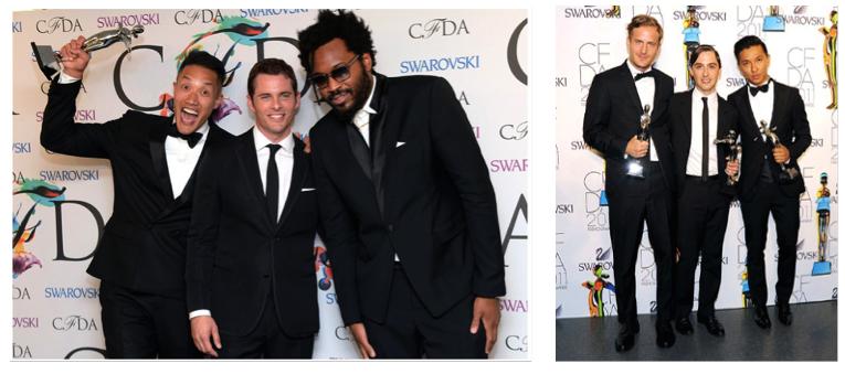 CFDA Award winners