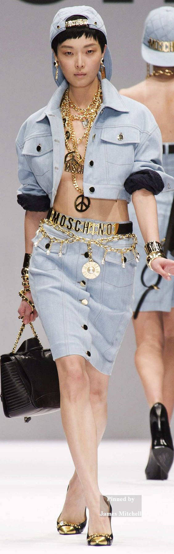 Moschino hip hop style