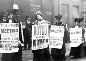white suffragettes